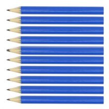 Blue Round Wooden Mini Half Golf Pencils
